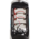 Электрический мопед  CITY gy-4 350W/48V (серо-голубой), фото 5