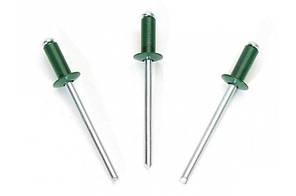 Заклёпка 4,0x10 RAL6005 Al/St зеленый