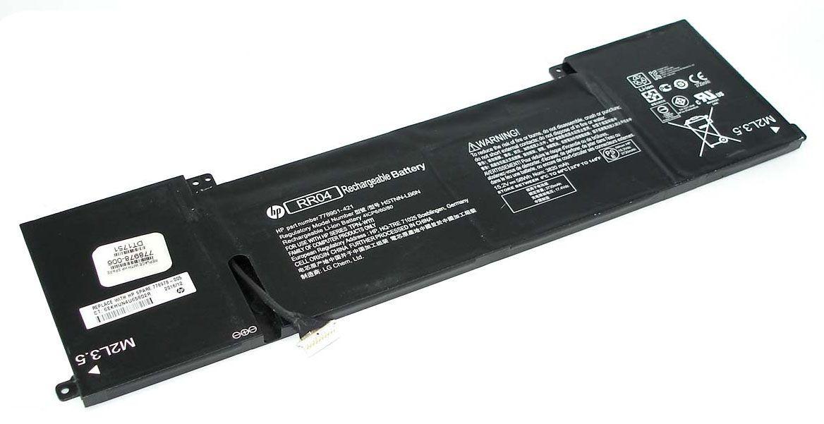 Аккумуляторная батарея для ноутбука HP RR04 Omen 15 15.2V Black 3700mAh Orig