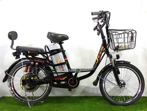 """Электровелосипед двухместный Помощник 22"""" колесо 48 V 350 W"""
