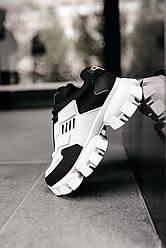 Женские кроссовки Prada Cloudbust  White\Black
