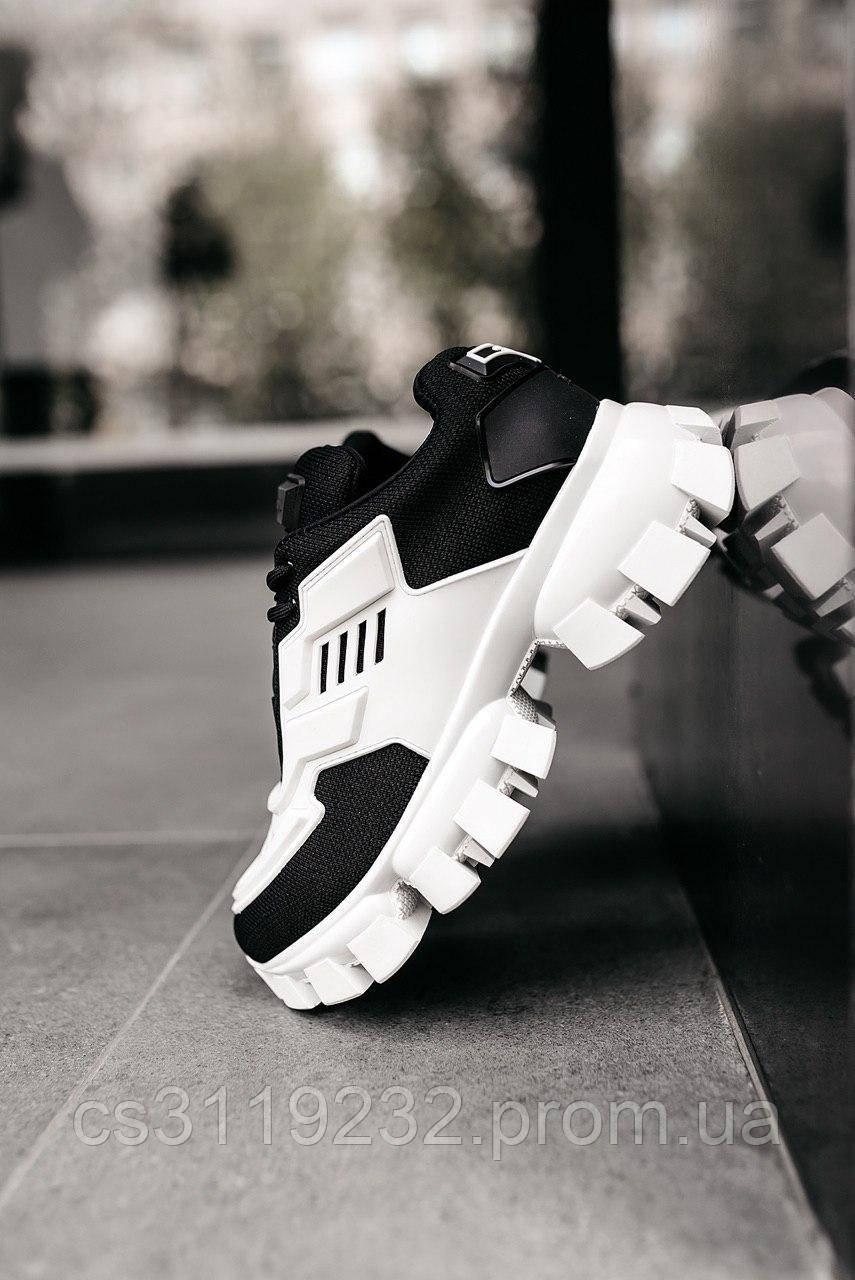 Жіночі кросівки Prada Cloudbust White\Black