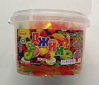 Джим желейные жевательные конфеты, червяки, 450 г.