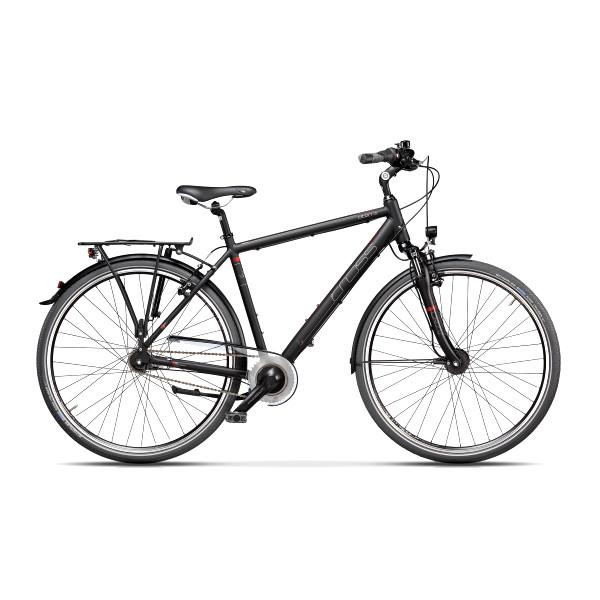 "Велосипед 28"" CROSS Citerra Man 7 spd рама 22"" 2018 (серый)"
