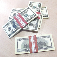 Хит! Деньги Сувенир 100 долларов 80 шт/уп, доллары США