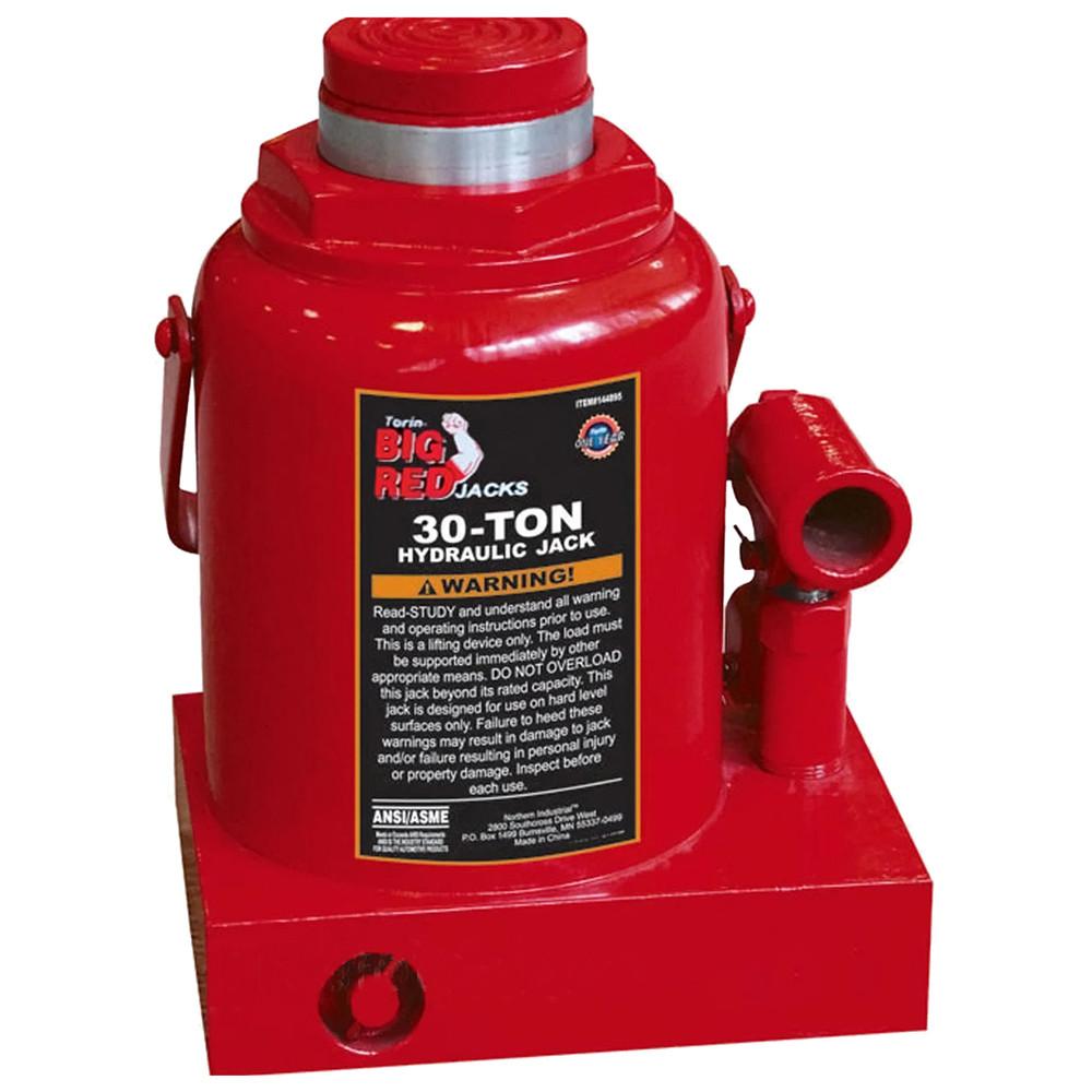 Домкрат бутылочный 30т 240-370 мм TORIN T93007
