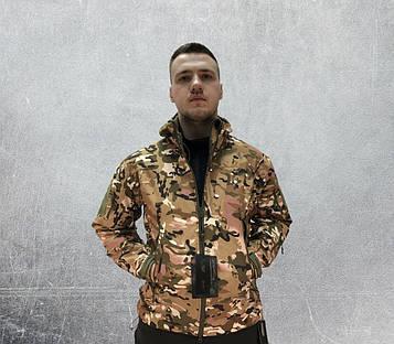 Куртка тактическая СОФТ ШЕЛЛ мультикам