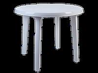 Стіл круглий (білий) [2495-06]