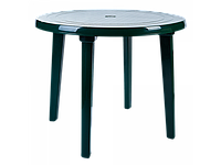 Стіл круглий (зелений) [2497-06]