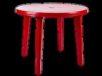 Стіл круглий (червоний) [2499-06]