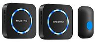 Беспроводной дверной звонок MAESTRO с двумя базами в розетку