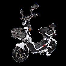 Електричний мопед CITY gy-4 500W/48V/20AH(DZM) (білий)