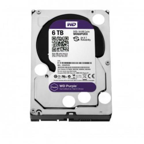 Жесткий диск 6Tb WD Purple 5400rpm 64MB (WD60PURZ)