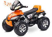 Детский квадроцикл Caretero Cuatro Orange, фото 1