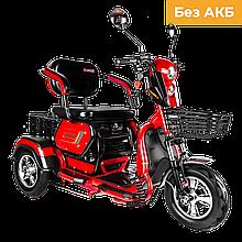 Електричний мопед AGAMI xk 500W/48V (червоний)