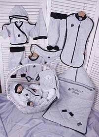 Набор одежды для новорожденного Baby Bag серый