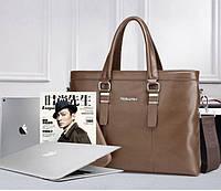 Мужская кожаная сумка. Модель 61214, фото 7