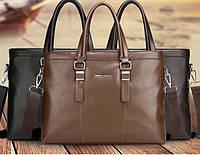 Мужская кожаная сумка. Модель 61214, фото 10