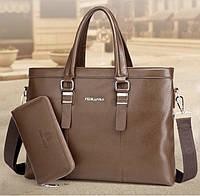 Мужская кожаная сумка. Модель 61214, фото 3