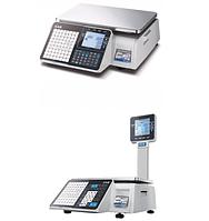 Весы чекопечатающие CAS CL3500. Новинка