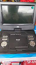 Автомобильный портативный телевизор OPERA 9.5 дюймов с Т2 DVD розкладушка