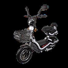 Електричний мопед R1 RACING Athena 500W/48V/20AH(GL) (білий)