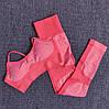 Женский спортивный топ для фитнеса розовый 4273, фото 4