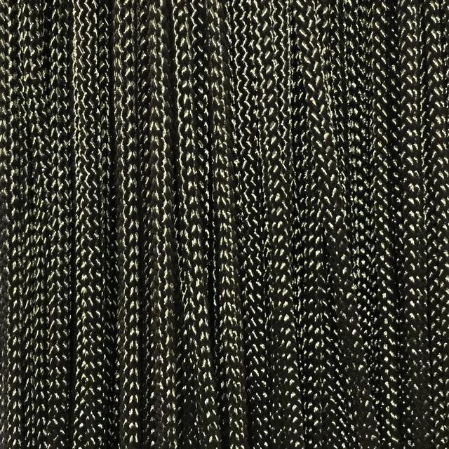 Шнур для одягу плоский поліамідний 5мм кол хакі (уп 100м) Укр-з