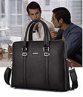 Мужская кожаная сумка. Модель 61214, фото 2