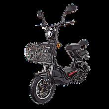 Електричний мопед R1 RACING Athena 500W/48V/20AH(MG) (чорний)