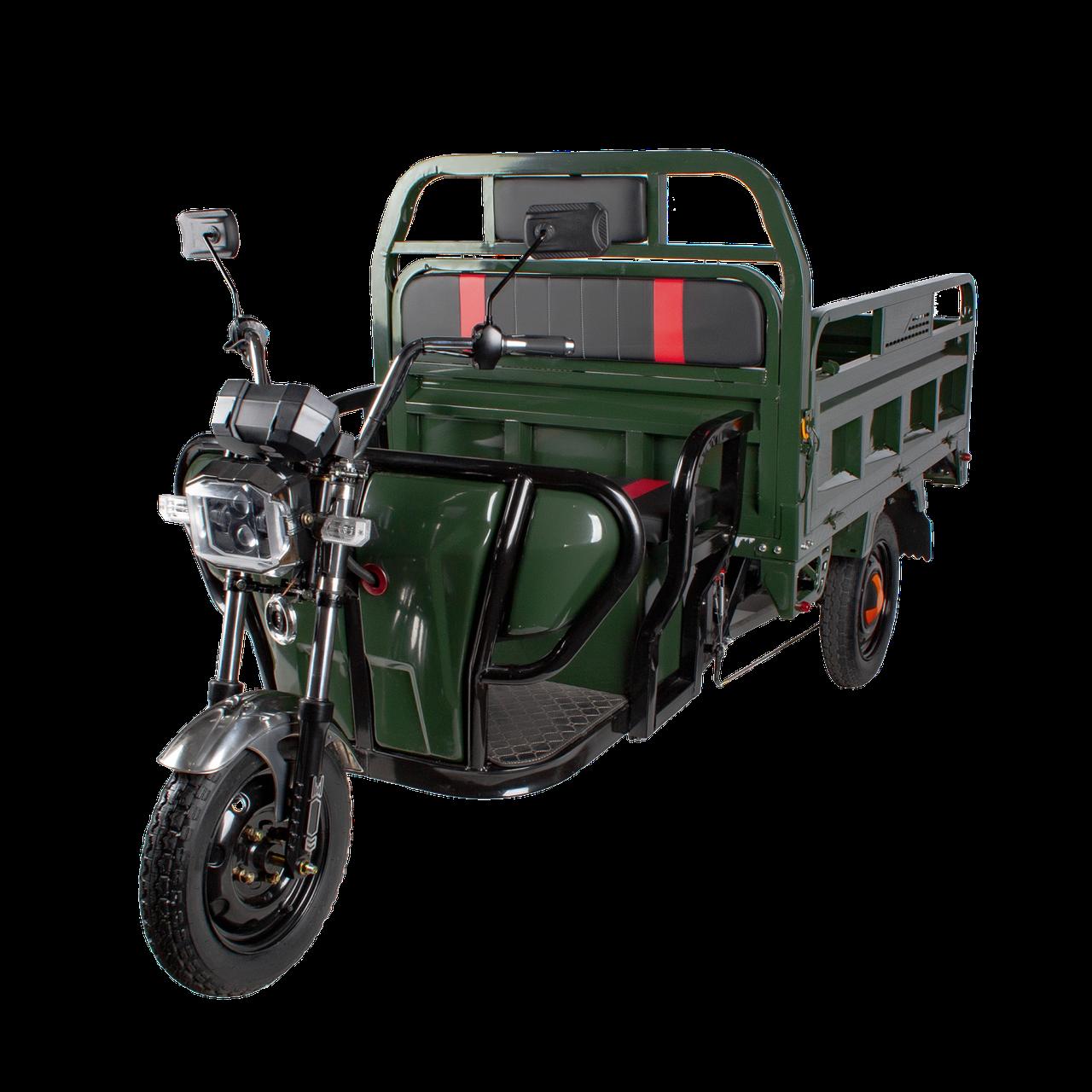 Електричний мопед TRIGO JJ1.6 1200W/60V/55AH(MG) (зелений)