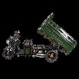 Електричний мопед TRIGO JJ1.6 1200W/60V/55AH(MG) (зелений), фото 2
