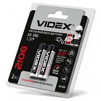 Аккумулятор Videx HR6 AA 2100 mAh Цена за блистер (2 шт)