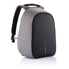 Рюкзак городской с защитой антивор XD Design Bobby Hero. Grey