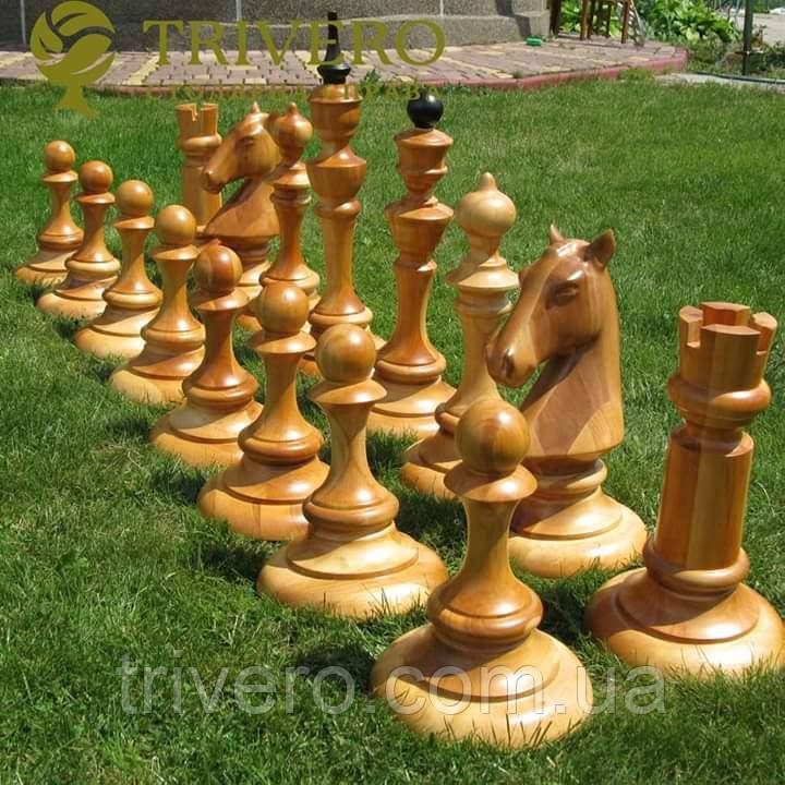 Великі шахові фігури для зон відпочинку