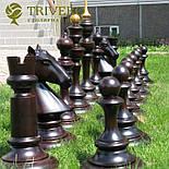 Великі садові шахи з дерева своє виробництво, фото 3