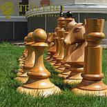 Большие садовые шахматы из дерева свое производство, фото 4