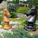 Великі садові шахи з дерева своє виробництво, фото 6