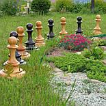 Большие садовые шахматы из дерева свое производство, фото 7