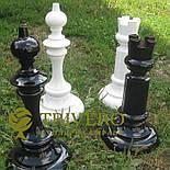 Великі садові шахи з дерева своє виробництво, фото 9