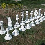 Великі садові шахи з дерева своє виробництво, фото 10