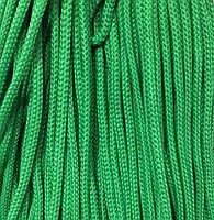 Шнур для одежды с наполнителем 5мм цв зеленый (уп 100м) 122Ф