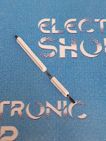 Кнопки белые  Lenovo A328 оригинал б.у, фото 2