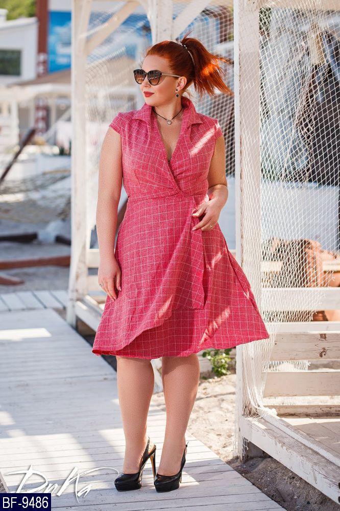 Стильное платье (размеры 50-56) 0241-20