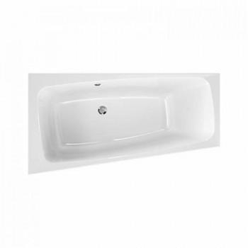 Ванна ассиметрична акрилова KOLO SPLIT / XWA1670000 / ЛІВА / 170*90 / з ніжками