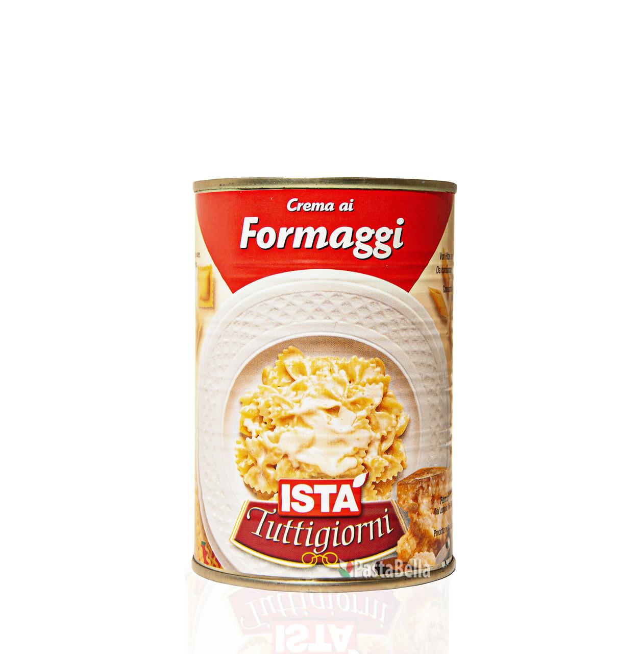 Купить Крем-соус сырный микс для пасты и закусок - Crema ai formaggi 400g Ista Pastabella