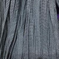 Шнур для одежды без наполнителя 8мм цв серый (уп 100м) Ф