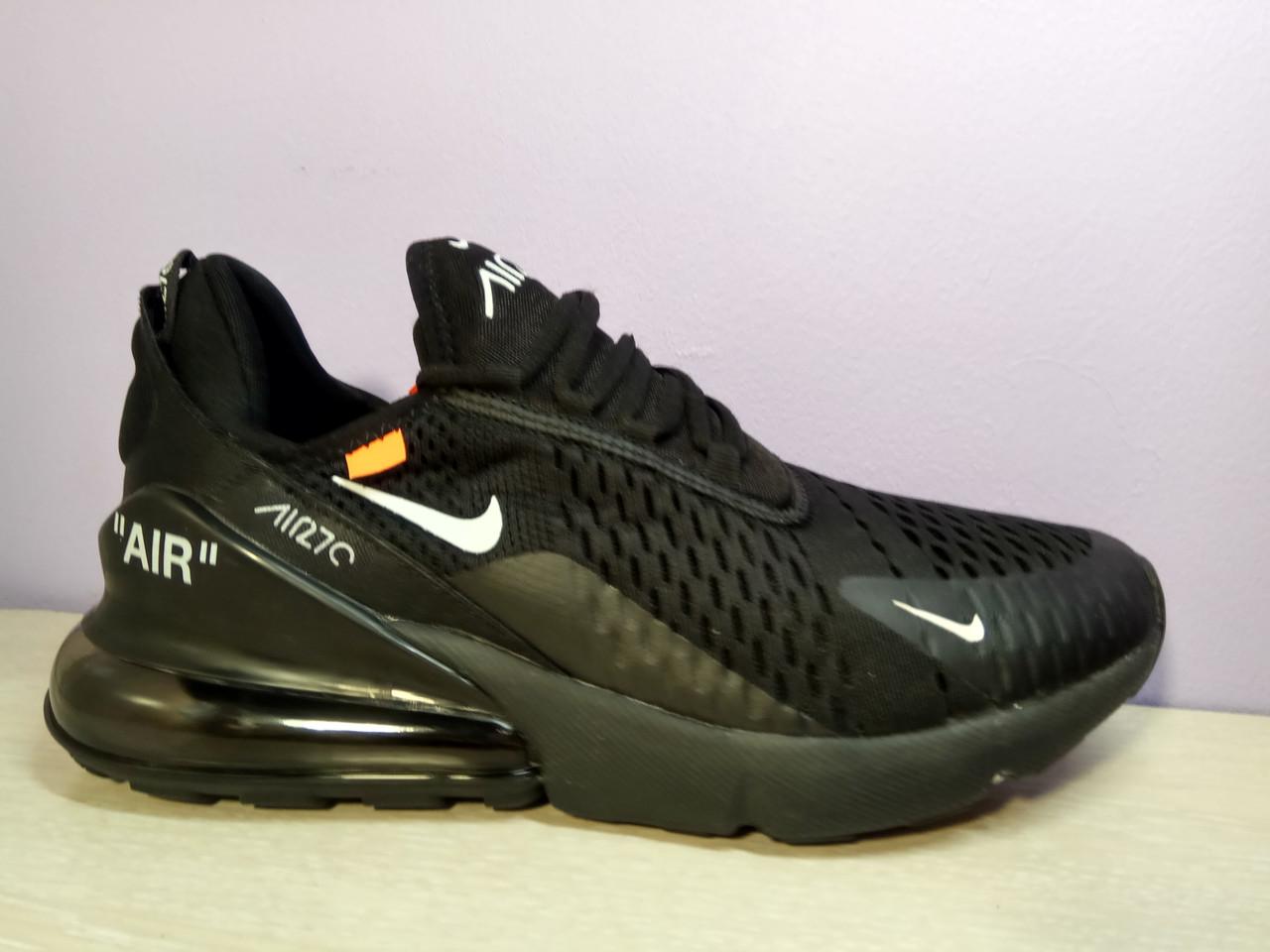 Чоловічі кросівки в стилі Air Max 270 Off Black