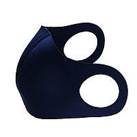 Маска-питта XoKo Basic c фиксакцией Синяя  размер S