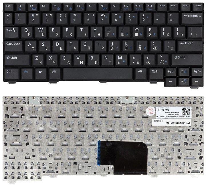 Клавиатура для ноутбука Dell Latitude (D2100) Black, RU